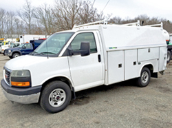 chevy trucks utility truck for sale